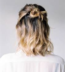hairstyles for back to school short hair 10 ideas of half up bun perfect hairstyle for back to school