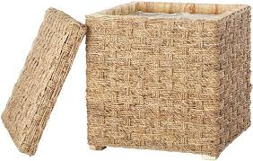 Seagrass Storage Ottoman Magnificent Wicker Storage Ottoman U2013 Interiorvues