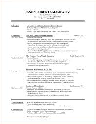 Resume In One Page Sample How To Format A College Resume Samples Of Resumes In Google Docs