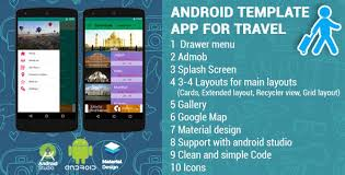 grid layout for android android app template for travel by vivacityinfotech codecanyon