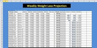Printable Spreadsheet Template 9 Weight Loss Challenge Spreadsheet Templates Excel Templates