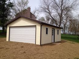 Two Car Garage Size by Prefab Car Garages Portable Garages Md Single Car Garage Two