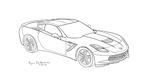 2014 zr1 corvette car coloring pages race car coloring pages