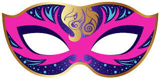 carnival masks pink and blue carnival mask png clip image gallery
