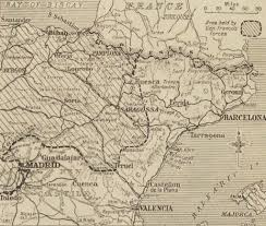 Catalonia Spain Map by Spanish Civil War Maps Modern Records Centre University Of Warwick