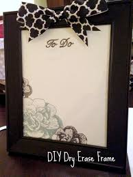 another crafty day twelve crafts of christmas diy dry erase frame