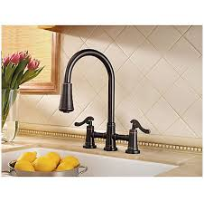 tuscan bronze ashfield 2 handle pull down kitchen faucet lg531