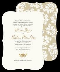 Sample Of Wedding Invitation Card Design Wedding Invitation Sample Lilbibby Com