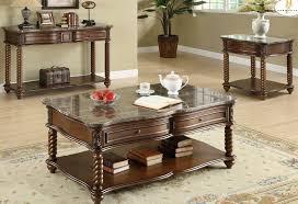 Marble Coffee Table Top Homelegance Lockwood Rectangular Sofa Table W Marble Top Beyond