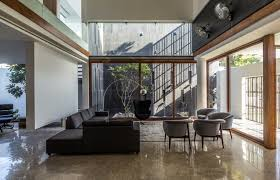 modern contemporary residence charged voids the architects diary