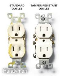 how to install a tamper resistant outlet family handyman