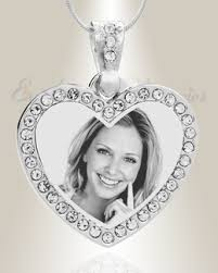 photo engraved necklace photo engraved jewelry