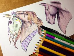 halloween horse transforming day of the dead halloween horse colored pencil