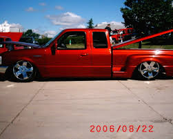bagged nissan frontier post ur bagged lowered ranger pix here ranger forums the