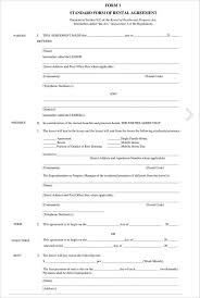 10 Vendor Agreement Templates Free Rental Lease Agreement 282 Free Word Pdf Excel Format