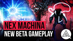 new machina 20 minutes of nex machina new gameplay youtube