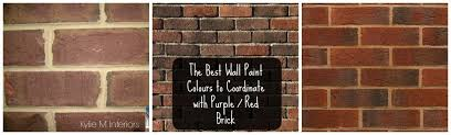 Brick Fireplace Paint Colors - the best paint colours for walls to coordinate with a brick fireplace