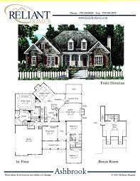 reliant homes the ashbrook plan floor plans homes homes