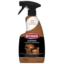 How To Clean A Leather Sofa by Weiman Leather Cleaner U0026 Conditioner 16 Fl Oz Walmart Com