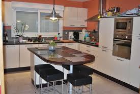 meuble central cuisine beau cuisine ilot centrale et meuble central cuisine galerie avec