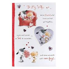 birthday cards for wife amazon co uk