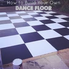 how to build a dance floor