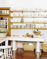 Open Kitchen Shelving Ideas by Organized Kitchens