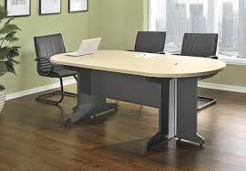 Grey Meeting Table Ameriwood Home Pursuit Small Conference Table Bundle