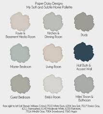 whole house color palette our last home house colors house and paint ideas