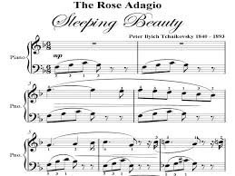rose adagio sleeping beauty tchaikovsky big note pdf ad