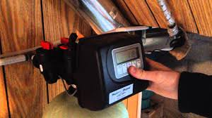 water depot using your water softener series 2000 youtube