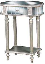 Mirrored Bedroom Furniture Canada Furniture Mirrored Accent Table With Four Drawers For Bedroom