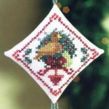dove tiny treasured diamond bead christmas ornament kit mill hill