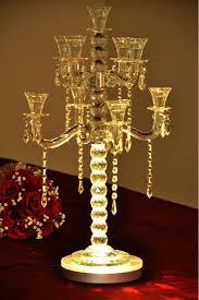 Wedding Centerpiece Vases Aliexpress Com Buy Free Shipping Led Wedding Centerpiece 8