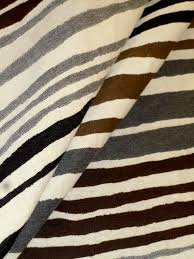 Striped Upholstery Fabric Urban Stripes Upholstery Fabric In Brown Black U0026 Gray
