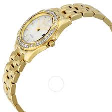 champagne silhouette citizen silhouette crystal champagne dial lades watch ew2352 59p