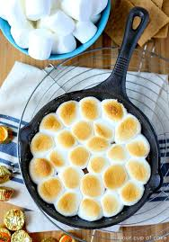 3 ingredient reese u0027s s u0027mores skillet dip your cup of cake