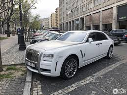 rolls royce ghost mansory rolls royce mansory white ghost ewb limited 29 april 2017