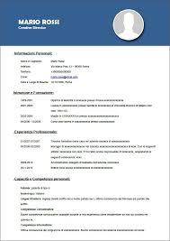 curriculum vitae formato pdf da compilare modello curriculum vitae da compilare