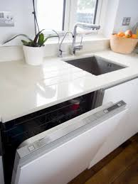 Kitchen Countertop Material Countertops Double Spray Kitchen Faucet With Stylish White