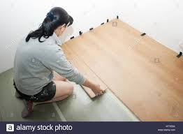 installing laminate flooring stock photo royalty free image