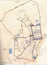 Map Of Jerusalem Untitled Document