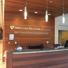 Registration Desk Design Registration Desk At Bellevue Nebraska Medicine Omaha Ne