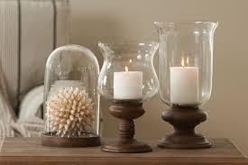 large hurricane candle holders wood base large hurricane candle
