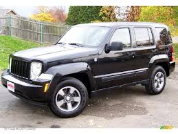 used jeep liberty 2008 brilliant black crystal pearl 2008 jeep liberty sport 4x4 exterior