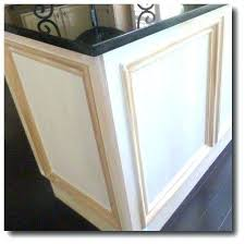 Kitchen Cabinet Door Molding Kitchen Cabinet Door Moulding Add Moulding To Dress Up Builder