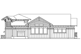 Split House Plans by Craftsman House Plans Kelseyville 30 476 Associated Designs