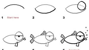 easy fish drawing cartoon whale how to draw a whale fish youtube