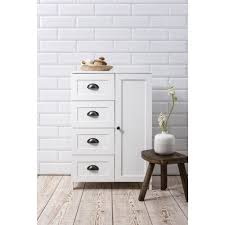 Bathroom Cabinet Storage by Stow Bathroom Cabinet Storage Cupboard In White Noa U0026 Nani