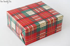 tartan wrapping paper gift wrapping 101